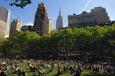 New York's Bryant Park is tracking visitor behavior Like any other potential advertising space New York Citys Bryant Park needs information about its visitors in order to attract potential sponsors. To gather that information the private Bryant Park Corporation which runs the city-owned park has announced a new partnership with data analytics firm PlaceIQ allowing the BPC to glean anonymized data from visitors mobile phones that can be used to create a generalized picture of the parkgoers…