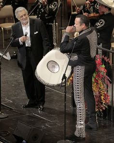 Placido Domingo with Pepe Aguilar
