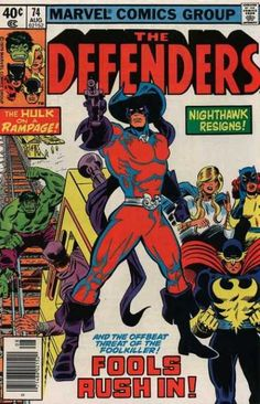 Fools Rush In - The Hulk On A Rampage - Nighthawk Resigns - Marvel Comics Group - Foolkiller