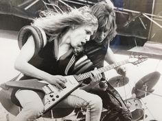 Michael Schenker with UFO  Day on the green, Oakland Ca 1976