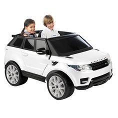 O Feber - Range Rover Sport 12V é um veículo para as crianças que funciona com um motor e uma bateria de 12V, que tem acelerador no pé e travão elétrico, as portas que podem ser abertas e com sons de buzina, de arranque e de aceleração. Além disso, inclui um conetor para um reprodutor de música portátil. Um formidável veículo, muito real, no qual as crianças poderão passear.