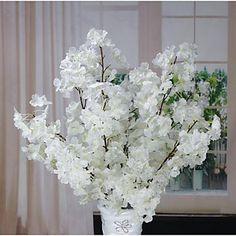 Poliéster Sakura Flores artificiais de 4758162 2016 por $6.29