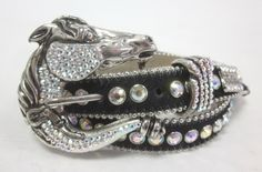 Cool belt for the horse shows! Bling Belts, Arabian Horses, Show Jumping, Black Rhinestone, Show Horses, Hair Jewelry, Belt Buckles, Fossil, Equestrian