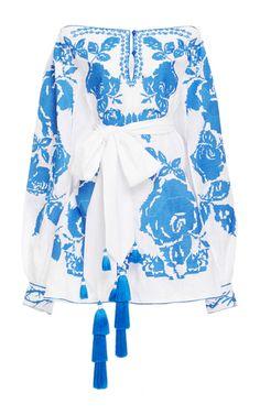 Yuliya Magdych Roses Mini Dress