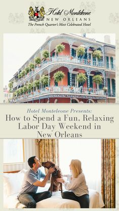 Check out our latest blog post for a list of ways to have a fun, relaxing Labor Day weekend in the Crescent City. #HotelMonteleone #NewOrleans #LaborDayWeekend