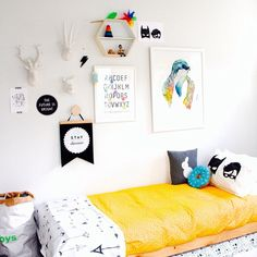 This ultra fun boys room is full of personality and full of great kids decor items. Boys Room Decor, Kids Decor, Girl Room, Baby Bedroom, Girls Bedroom, Deco Kids, Budget Planer, Nursery Inspiration, Kid Spaces