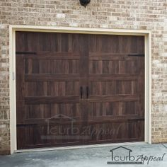 Chi Garage Doors Accents Collection Carriage House Long