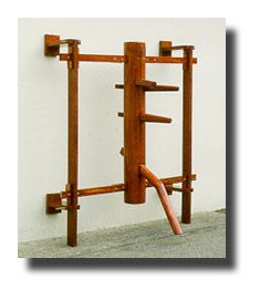 wall mount - Wing Chun Kung Fu practice dummy  Martial arts supplies gear and collectibles