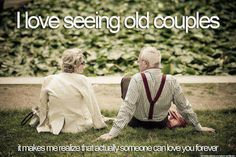 I wanna grow old with you <3