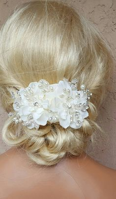 Check out this item in my Etsy shop https://www.etsy.com/listing/462576213/bridal-hair-comb-wedding-comb-decorative