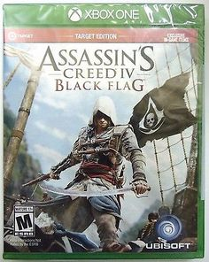 awesome Assassin's Creed IV Black Flag XBOX ONE NEW GAME TARGET EDITION EXCLUSIVE - For Sale View more at http://shipperscentral.com/wp/product/assassins-creed-iv-black-flag-xbox-one-new-game-target-edition-exclusive-for-sale/