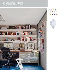 Casa de Colorir: Home Offices: Trabalhando em casa ou morando no trabalho?