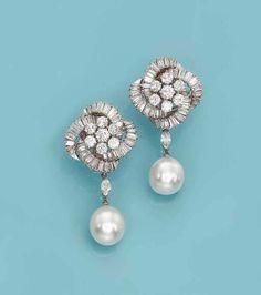 Diamond Earing, Diamond Cluster Ring, Diamond Pendant, Pearl Jewelry, Indian Jewelry, Jewlery, Pearl Earrings, Diamond Tops, Marquise Cut