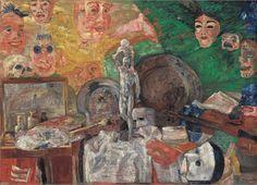 James Ensor: Still Life in the Studio, 1889