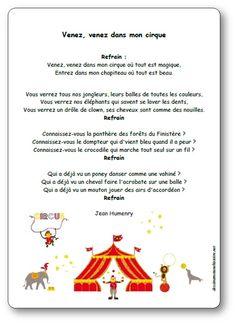 Themed Parties 384424518176844558 - Comptine Venez venez dans mon cirque Plus Source by delasb Venus, Circus Party, Diy Photo, Mardi Gras, Coloring Pages, Activities For Kids, Singing, Chant, Preschool