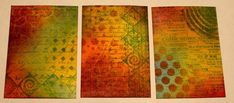 Mixed Media Artist Trading Cards (ATCs) by Marjie Kemper