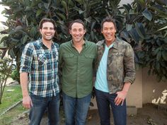 HGTV's Flipping the Block Season 1 - Josh Temple, David Bromstad and Scott McGillivray
