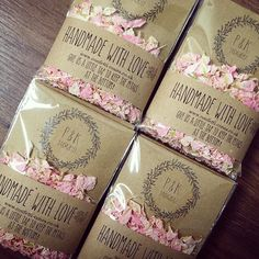 Our Boho range has gone down a treat with all you #bridetobe and #groomtobe 🌹👌🏻 these Boho envelopes are the perfect wedding favour for your guests #confetti #weddinginspiration #confettienvelopes #boho #handmadewedding