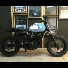 XT 600 by AD HOC cafe racers