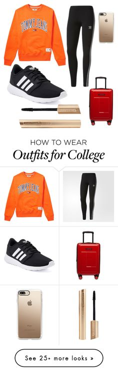 """Untitled #1"" by looks103 on Polyvore featuring Tommy Hilfiger, adidas and Casetify"