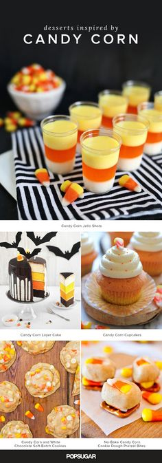 Love it or hate it, you can't deny that candy corn is a Halloween staple. These delicious desserts starring candy corn will most definitely convert the haters.