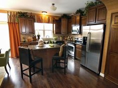 Transitional Kitchens : Designers' Portfolio 2597 : Home & Garden Television#/id-2597/room-kitchens/style-transitional/color-brown