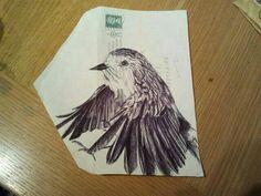 My Mark Powell biro artist copy on envelope xxx