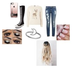 """""""Alphas mate 1"""" by countrylove531 on Polyvore featuring Dorothy Perkins, Tommy Hilfiger, Converse, Casetify and Midsummer Star"""