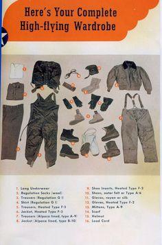 Complete pilots Flight Gear 1944-45