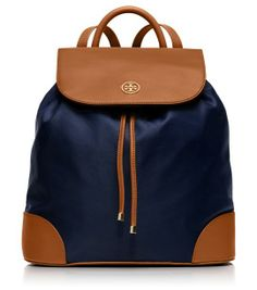 Someone on your gifting list will love this Tory Burch backpack (more ideas here!)