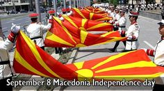 September 8 Macedonia Independence day