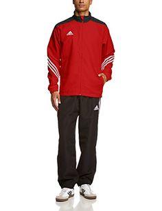 quality design daa4a f0b84 adidas Sere14 PRE Suit - Chándal de fútbol para hombre Pantalón y chaqueta  con bolsillos laterales