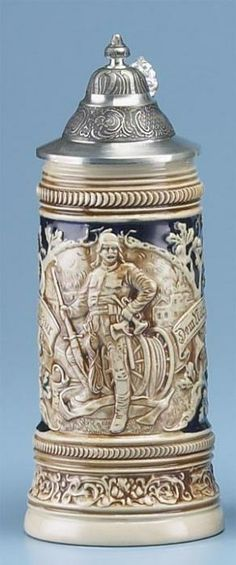 FIREMAN STEIN - Authentic Beer Steins from Germany