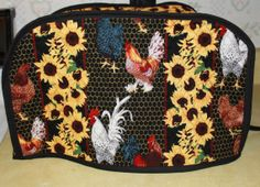 Quilted Toaster Cover  Large Toaster Cover  by Grandmasandeze, $30.00