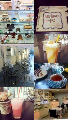 Escenarios reales de mis novelas. REGÁLAME PARÍS. Antique Café (Valencia, Spain)