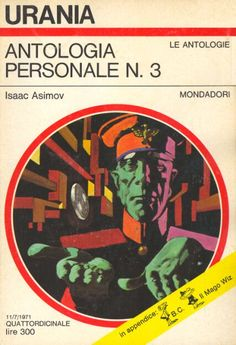 570 	 ANTOLOGIA PERSONALE N. 3 11/7/1971 	 NIGHTFALL AND OTHER STORIES (1969)  Copertina di  Karel Thole 	  ISAAC ASIMOV