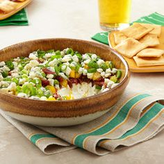 Seven-Layer Blue Cheese Dip