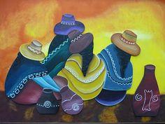 CREACIONES DE SILVIA: Encastre de COYAS por VERONICA!!!!! Southwestern Paintings, Peruvian Art, Bob Ross Paintings, Mexico Art, Button Picture, Pencil Painting, China Painting, Mexican Style, People Art