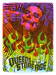 GigPosters.com - Queens Of The Stone Age - Alain Johannes