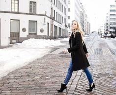boyfriend jeans, high heels. minnasomero.blogspot.com