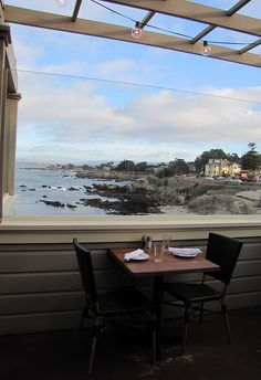 Outdoor Deck at The Beach House Restaurant, Pacific Grove, CA | Flickr - Photo Sharing!