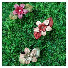 """Coleção """"Flora Brasileira"""", by Camaleoa #biodesign #biojoias #modaverde #acessórios #ecofashion #ecomoda #ecojoia #modasustentável #igaramodaarte"""