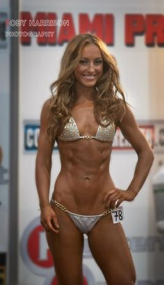 It's great to see fitness model without breast implants :)