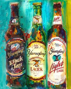 Yuengling Beer   Black And White, Lager And Light Beer Archival Print Or  Giclee   Perfet For Beer Bar, Man Cave Or College Dorm