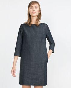 ZARA的图片 1 名称 牛仔布连衣裙