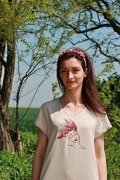 maramanufaktura / dámske šaty /kolekcia SPANILÁ T Shirts For Women, Tops, Fashion, Moda, Fashion Styles, Fashion Illustrations