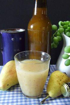 DIY Pear Nectar
