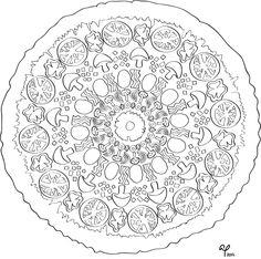 Free pizza coloring page! I know a few kiddies who would go crazy for this. #kidscrafts