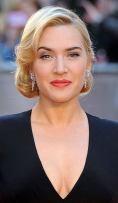 Kate Winslet: Confirmed for Divergent! She will be Jeanine Mathews Latest Hairstyles, Celebrity Hairstyles, Wedding Hairstyles, Fancy Hairstyles, Kate Winslet Married, Kate Winslet Images, Medium Hair Styles, Blond, Dame
