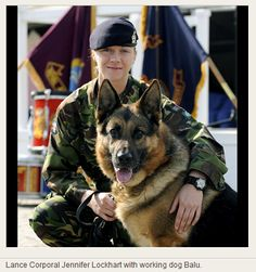 Military Working Dog  Handler - www.Rgrips.com